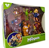 Disney Parks Exclusive The Muppets Collectable Figures playset