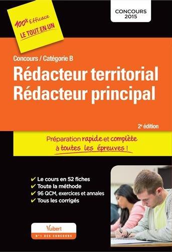 Concours Rédacteur territorial et Rédacteur principal