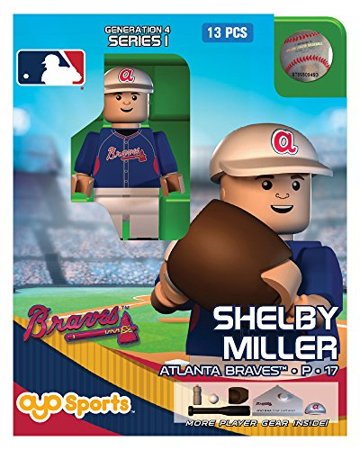 Shelby Miller OYO MLB Atlanta Braves G4 Series 1 Mini Figure Limited Edition - 1