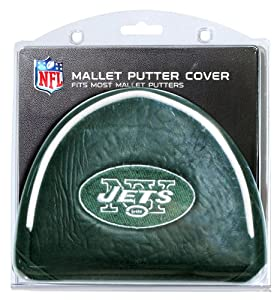 Buy NFL New York Jets Mallet Putter Cover by Team Golf