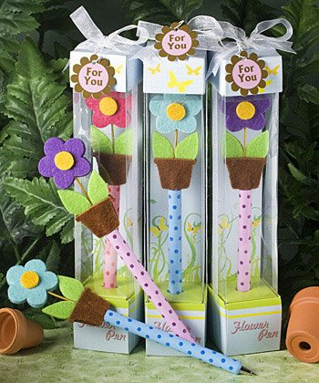 Spring Theme Flower Pen Wedding Favors, 18