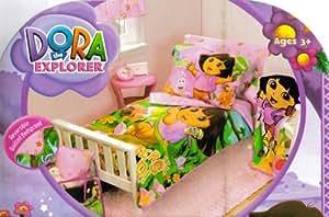 Amazon.com : Dora the Explorer and Boots 10pc Crib Toddler ...