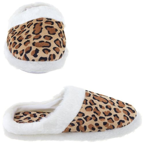Cheap Leopard Slippers for Women (B009TH35HA)