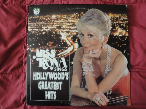 Miss Rona Sings Hollywood's Greatest Hits 1974 Miss Rona Records MRR-1001 Vinyl Lp Record EX (That Old Feeling Soundtrack compare prices)