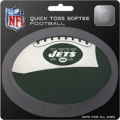 NFL New York Jets Kids Quick Toss Softee Football, Green, Small (Nfl Gear For Kids compare prices)