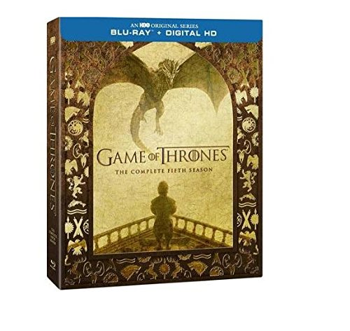 Game Of Thrones: The Complete Fifth Season with The Visual Effects Exclusive Bonus Disc (Blu-ray + Digital HD With UltraViolet)