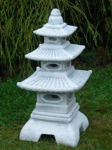 figur japanische laterne h 47 cm gartendeko aus beton. Black Bedroom Furniture Sets. Home Design Ideas