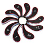 10pcs Sleeve Golf Club Iron Headcover...