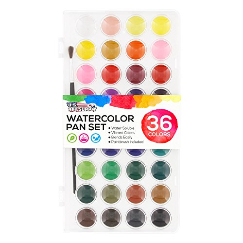 Art Supply Artist Watercolor Paint Set