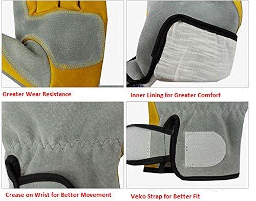 Handmax-Premium-Argon-Welding-Gloves-Thermal-Protection-Large-9-1-Pair
