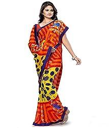 Pushkar Sarees Chiffon Saree (Pushkar Sarees_41_Multi-Coloured)