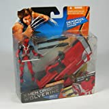 X-Men Origins Wolverine: Comic Series Deadpool Action Figure & Missile Cannonby Hasbro
