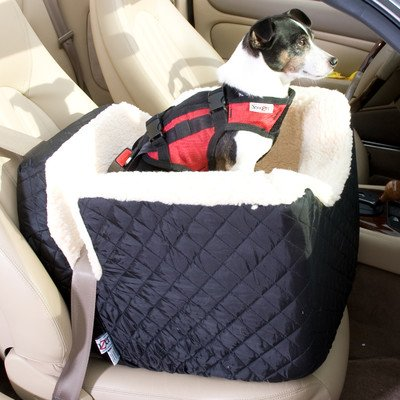 Small Dog Car Booster Seat front-669748