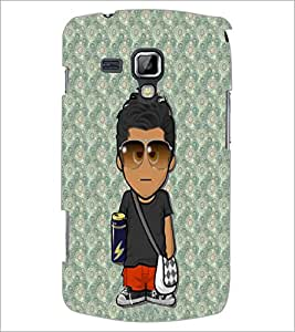 PrintDhaba Cartoon D-3224 Back Case Cover for SAMSUNG GALAXY S DUOS 2 S7582 (Multi-Coloured)