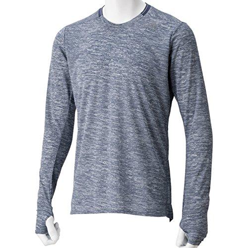 (アディダス)adidas M Snova リフレクト 長袖 Tシャツ KAW13 AA0619 ミッドナイトグレー F15 J/L