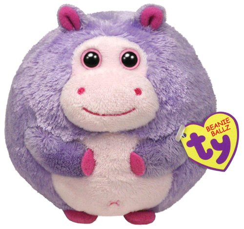 Ty Beanie Ballz Dewdrop The Hippo - 1