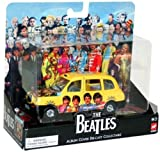 Corgi The Beatles Album Cover Die-Cast Collectable Sgt. Peppers Lonely Heartsclub Band London Taxi