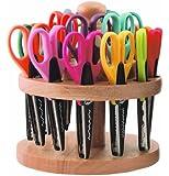ECR4Kids Kraft Edger Rotating Scissor Rack with 18 Scissors