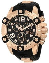 Invicta Men's 11175 Arsenal Reserve Chronograph Black Dial Watch