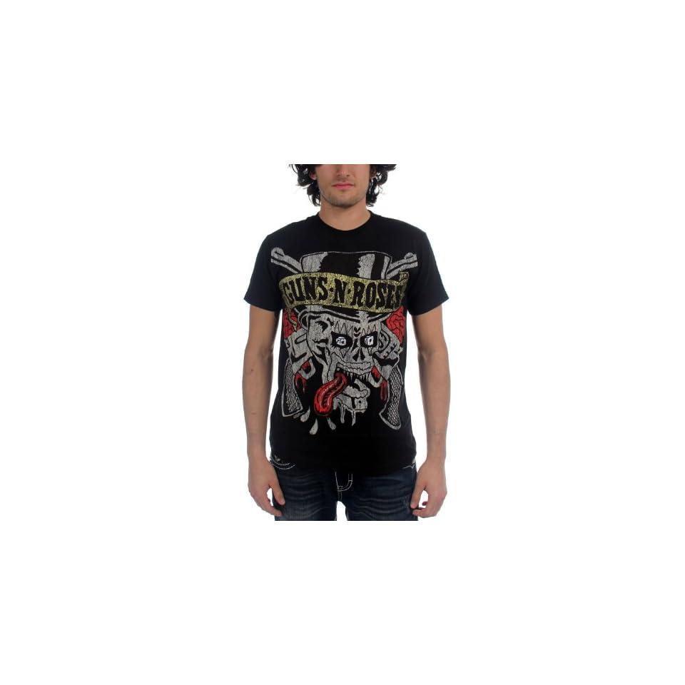 Guns N Roses   Tongue Skull T Shirt   Small