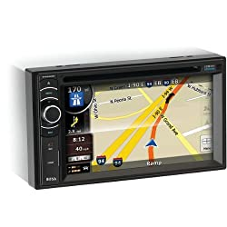 See BOSS AUDIO BV9386NV Double-DIN In-Dash DVD Receiver with Navigation, Full iPod(R)Control & Bluetooth(R) Details