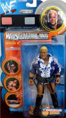 Buy Low Price Jakks Pacific RIKISHI WWE WWF Wrestlemania XVII Series 9 Figure (B004XIQP04)