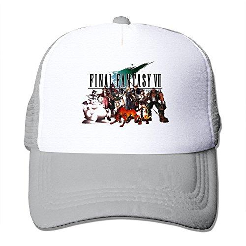 Bang da uomo Final Fantasy Vii poster Cappellino regolabile grigio Taglia unica