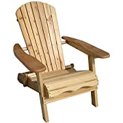 Merry Garden Foldable Adirondack Chair