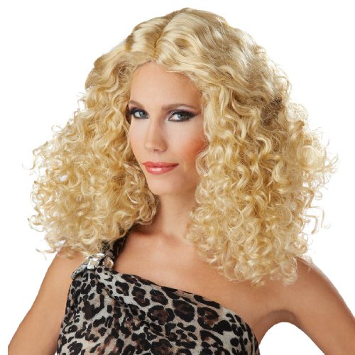 Blonde Bodacious Waves Costume Wig - Adult Std.