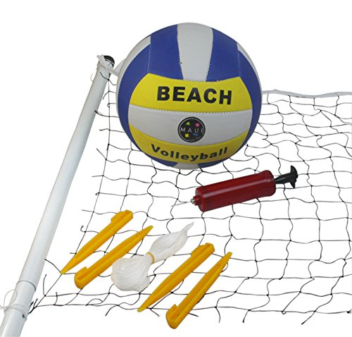 Maui And Sons Beach Complete Volleyball Set