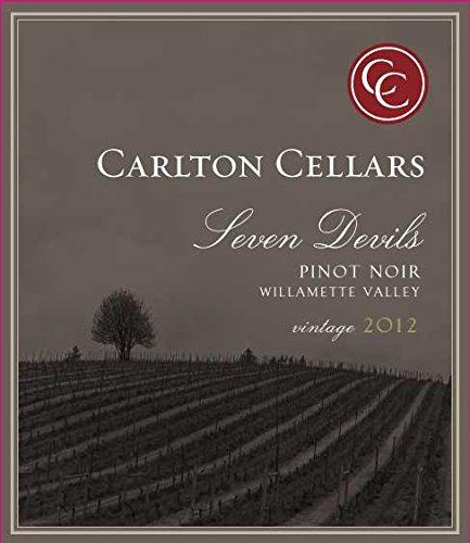 2012 Carlton Cellars Seven Devils Willamette Valley Pinot Noir 750 Ml