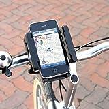 【全国送料無料】iPhone・スマートフォン用自転車ホルダー iPhone 4S・4、Galaxy SⅡ、HTC EVO 3Dなど各社アンドロイド端末対応 アウトレット特価品!在庫限り