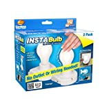 Instabulb InstaBulb Light Bulb, Cordless, 2 pack