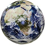 Earthball, Inflatable Earth Globe from satellite images, Glow in the Dark Cities