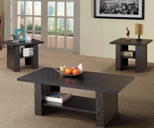 3pc-coffee-table-set-with-bottom-shelf-in-rich-black-finish-by-coaster-home-furnishings