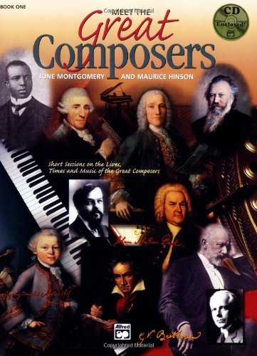 Meet The Great Composers Book 1 (Learning Link) front-118848