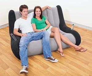 LOUNGE SOFA aufblasbar Sitzlounge für Zelt ideal