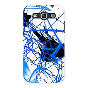 Gorgeous Blue Splasher Print Back Case Cover for Galaxy Grand Quattro