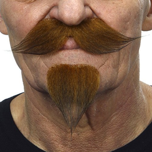 Ginger handlebar with a goatee - 1