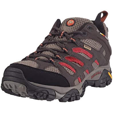 Mens Moab Gore-Tex Shoes - 8 - DARK CHOCOLATE