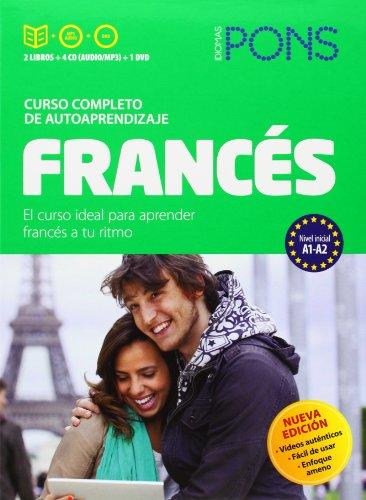 CURSO PONS FRANCES 2 LIBROS Y 4 CD Y DVD
