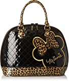 Disney Minnie Leopard Quilted Dome Shoulder Bag