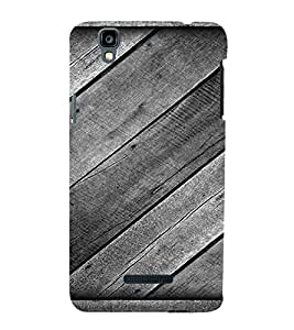 Wooden Box Design 3D Hard Polycarbonate Designer Back Case Cover for YU Yureka :: YU Yureka AO5510