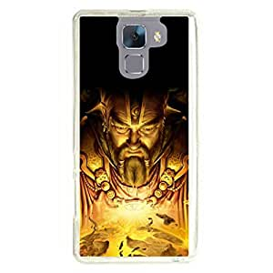 a AND b Designer Printed Mobile Back Cover / Back Case For Huawei Honor 7 (HON_7_1219)
