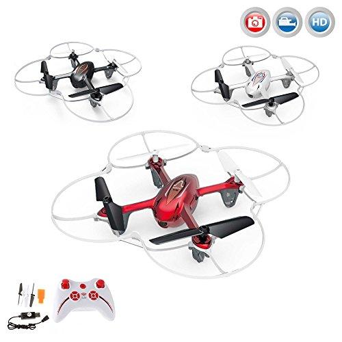 Quadcopter X11C Explorer Pro HD Edition, Neueste Version 4-Kanal, RC ferngesteuerte Drone 2.4GHz-Technologie inkl. HD Kamera-Set,Ersatzteil-Set, Ready-to-Fly RTF