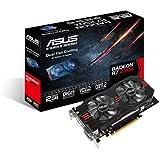 Asus Radeon R7 250X Grafikkarte (PCIe 3.0 x16, 2GB GDDR5 Speicher, 1x HDMI, 2x DVI, 1x DisplayPort)