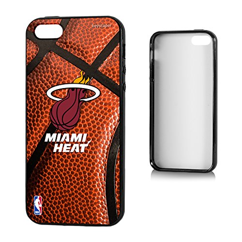 Miami Heat iPhone 5 & iPhone 5s Bump Case officially licensed by the NBA for the Apple iPhone 5/5S by keyscaper® Flexible Full Coverage Low Profile (Miami Heat Iphone 5s Case compare prices)