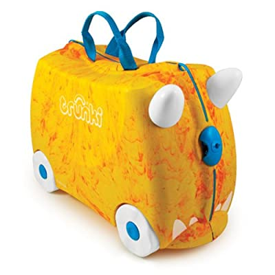 Trunki Trunkisaurus Rox Ride-on Suitcase (Orange) from Magmatic