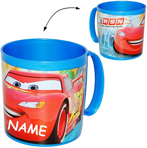 trinkbecher henkeltasse disney cars lightning mcqueen incl name 360 ml aus. Black Bedroom Furniture Sets. Home Design Ideas