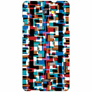 Micromax Canvas Nitro A311 Back Cover- Silicon Abstract Art Designer Cases